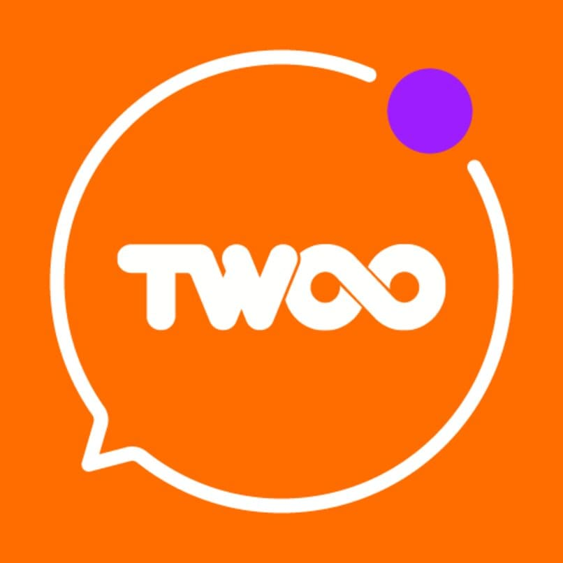 logotipo de la red twoo
