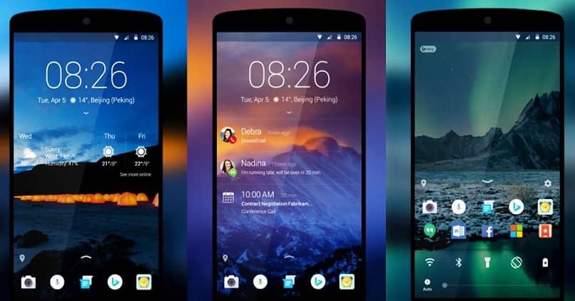 widgets de la pantalla de inicio de bloqueo de Android