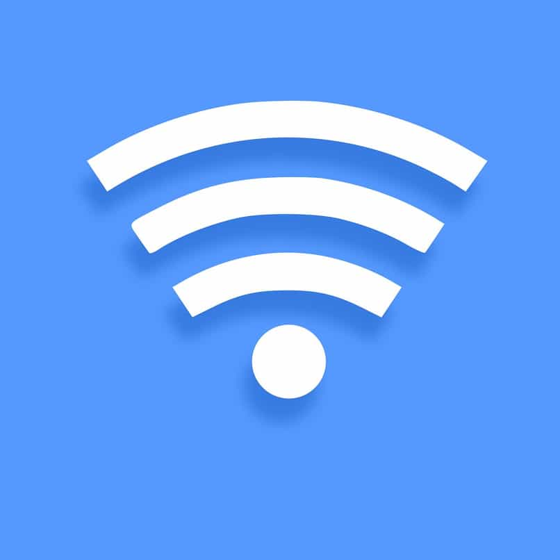 icono wifi azul