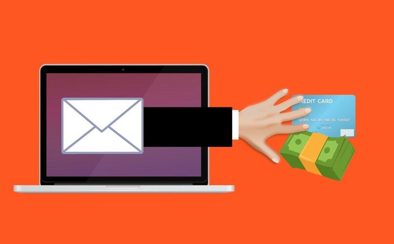 correo de identidad fraudulento