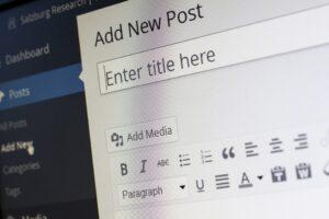 nuevo artículo de wordpress