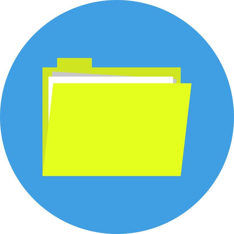 use las carpetas de Outlook y mantenga su correo en orden