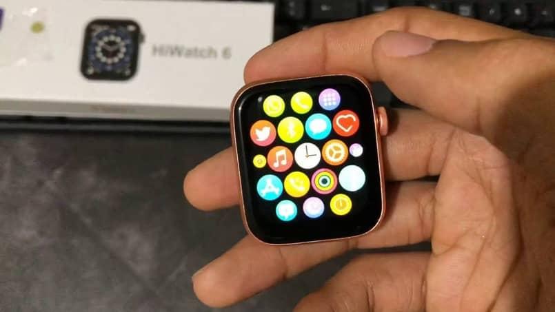 aplicaciones para relojes inteligentes t500