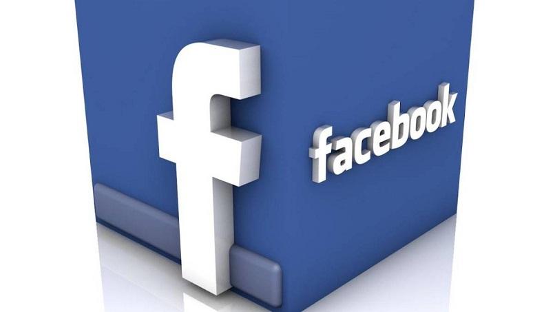 facebook y logo 3d