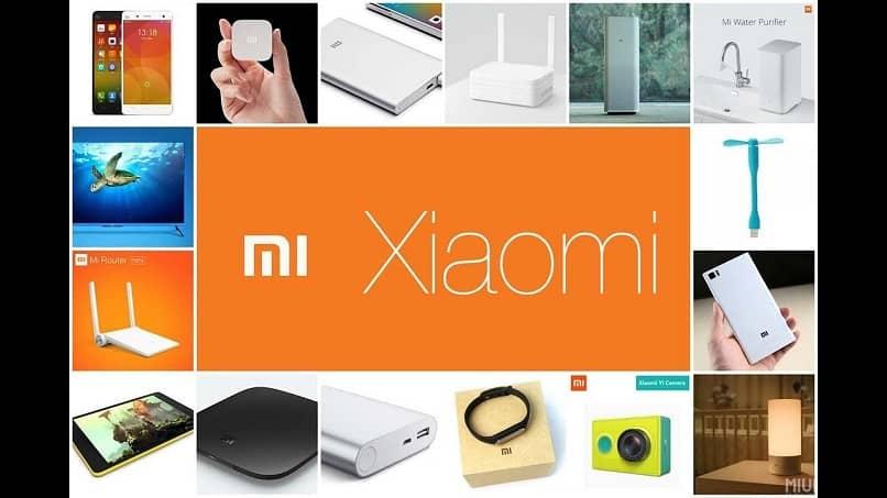 productos de tecnología xiaomi