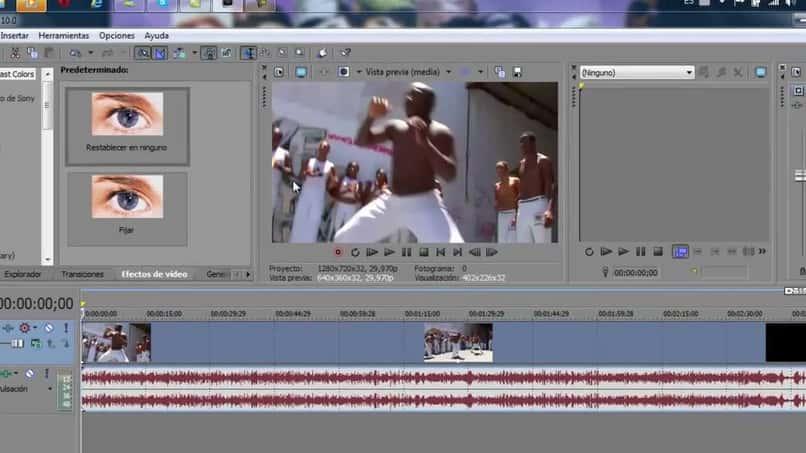 agregar cientos de efectos en videos