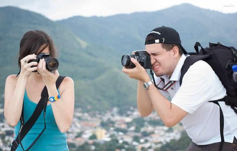 calidad de imagen de las fotos en una cámara