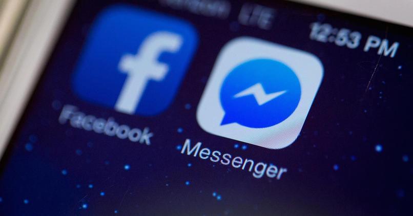 logotipo de facebook messenger
