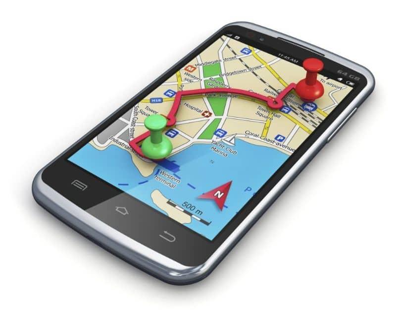 ubicación gps móvil