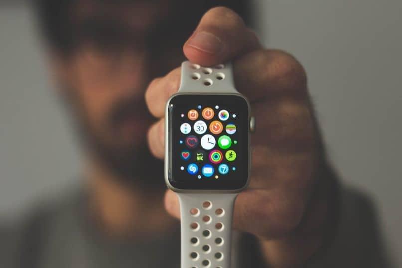 smartwatch t500 blanco