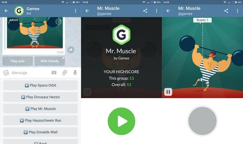 jugar mr muscle en telegram