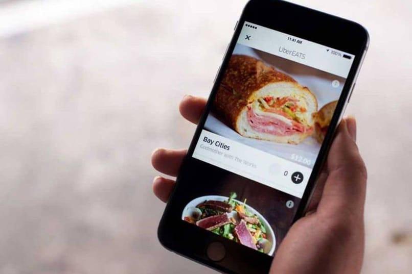 conexión de acceso a la solución uber eats