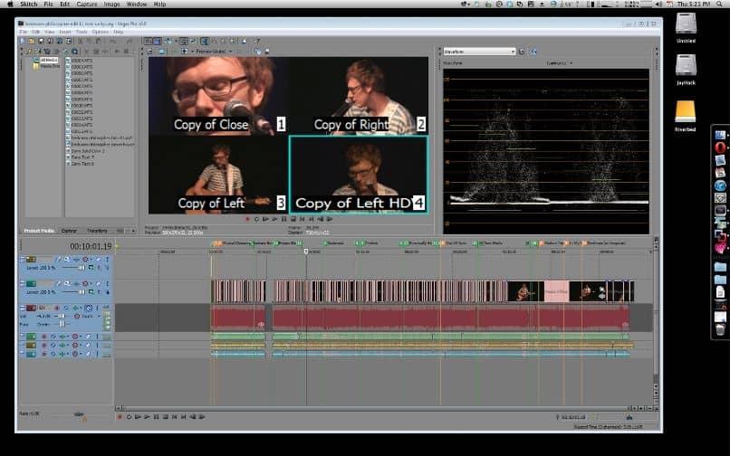 efecto de pantalla dividida de sony vegas