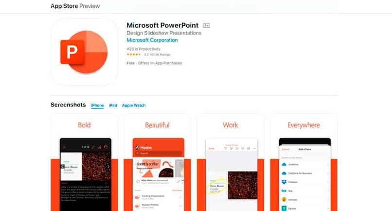 Ver el archivo de PowerPoint desde mi teléfono