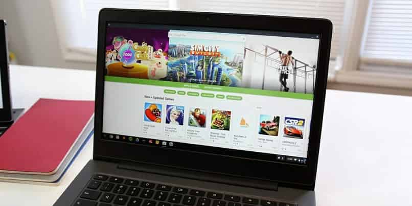 instalar y ejecutar Microsoft Office en una computadora portátil Chromebook