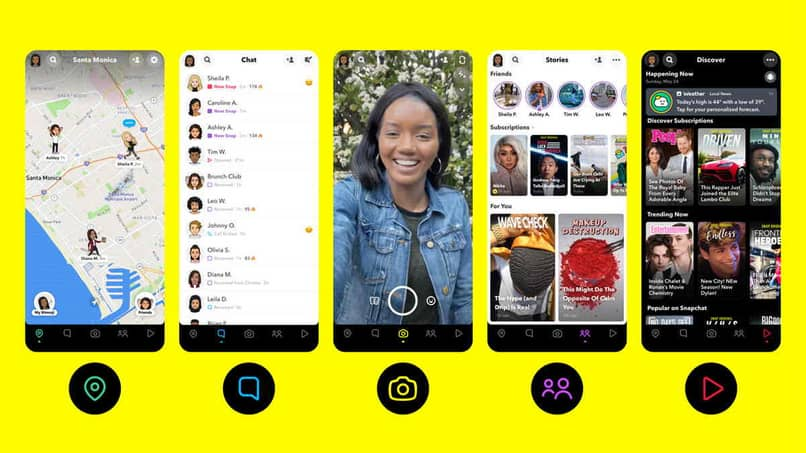 Funciones y herramientas de Snapchat