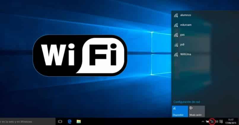 Windows 10: conéctese a la red WiFi mediante la línea de comandos o la barra de tareas