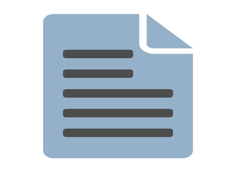 archivo con información de extensión dat