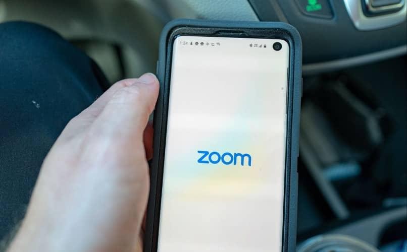 cámara móvil para su reunión con zoom