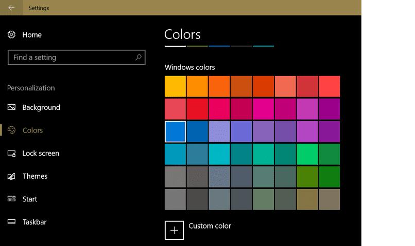 calibrar colores en Windows 10