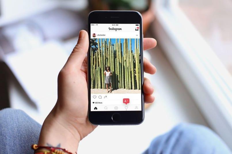 usar instagram en el móvil