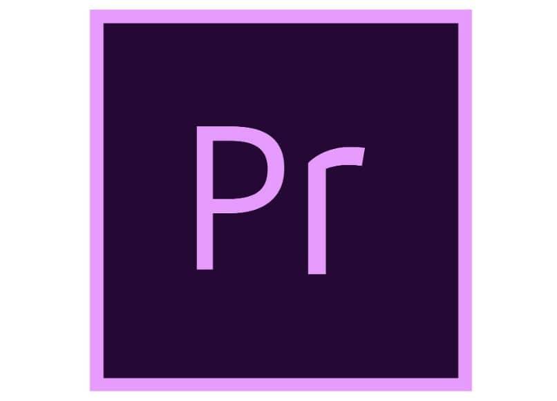 Logotipo de Adobe Premiere con efecto de movimiento