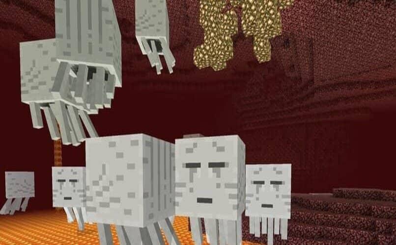 fantasmas en minecraft