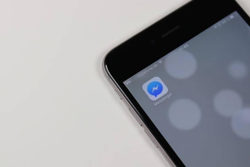 videollamada de mensajería móvil
