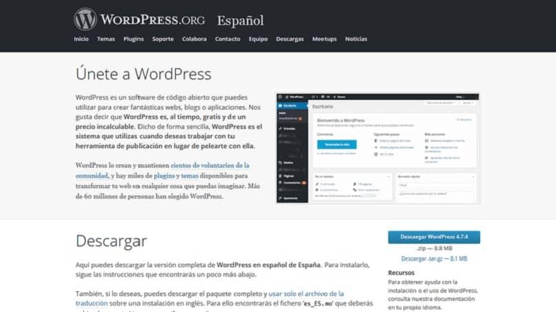 wordpress es muy útil para empresas que manejan una gran cantidad de contenido
