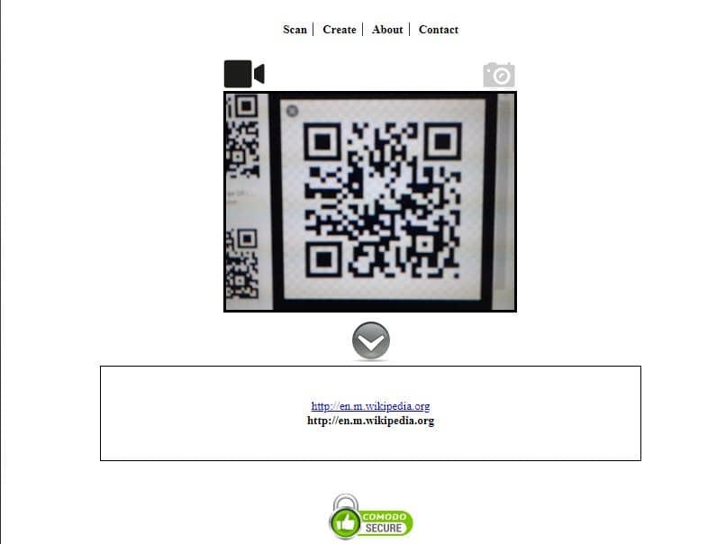 código qr ver webqr