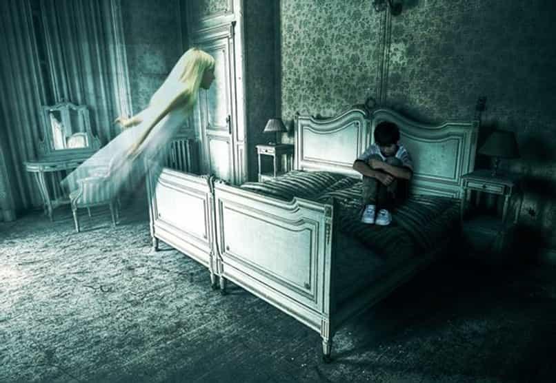 vivero de photoshop fantasma fantasma