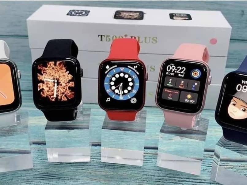 reloj inteligente t500 varios