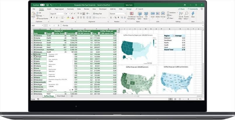 Información de celda de Excel