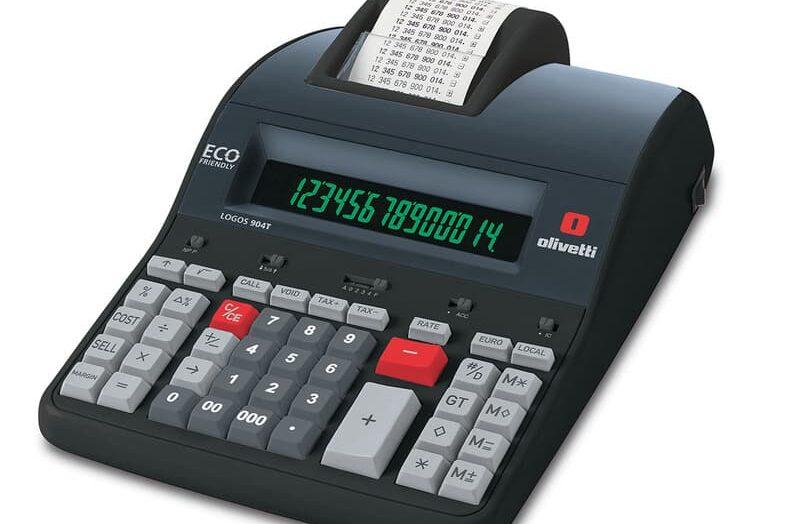 Cómo usar una calculadora con una impresora de recibos ¿Cómo cargo el rollo?