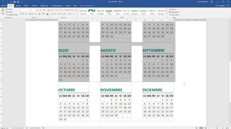 Cómo crear un calendario personalizado en Word – Guía fácil