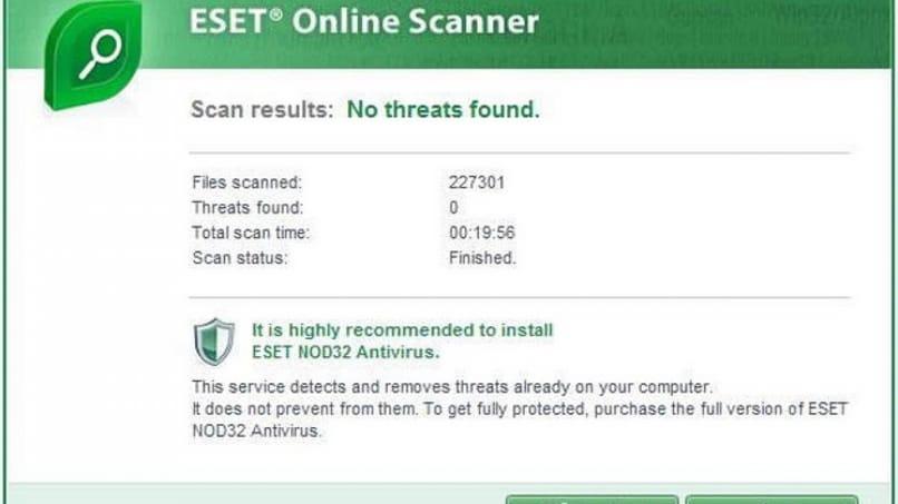 Cómo limpiar y desinfectar una computadora o PC con Eset Online Scanner Antivirus – Eliminar virus