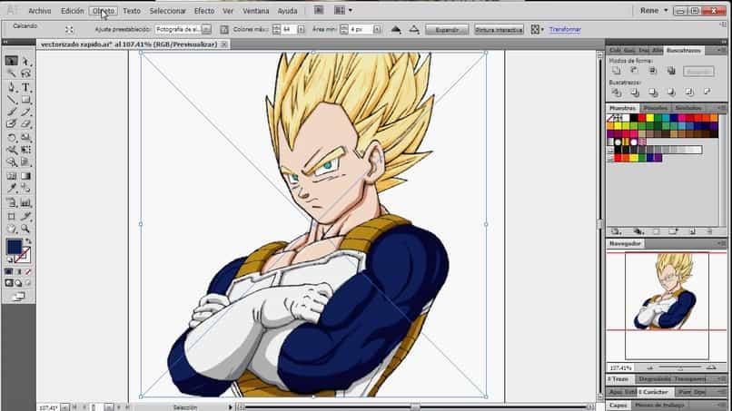 Cómo utilizar la herramienta de seguimiento de imágenes interactiva en Adobe Illustrator