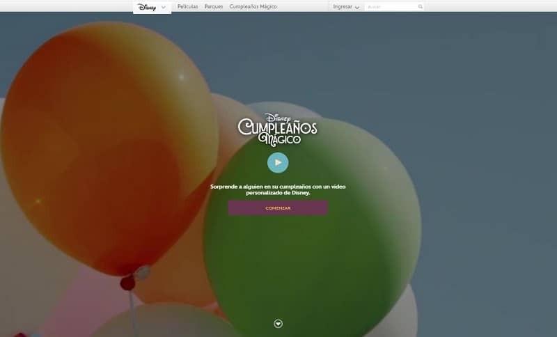 Cómo registrarse o crear una cuenta en Disney Magic Birthday