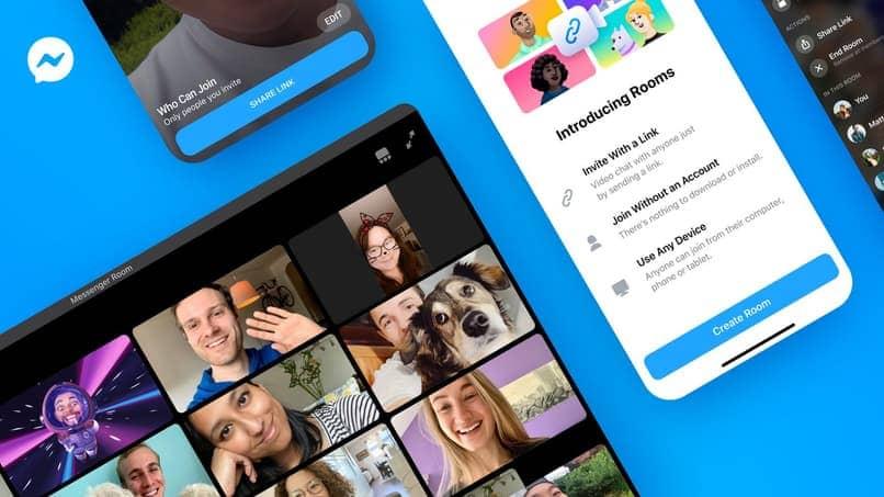 Salas de Facebook Messenger: cómo crear salas de chat