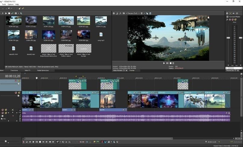 Cómo editar, renderizar y exportar canales alfa o videos de fondo transparentes en Sony Vegas Pro